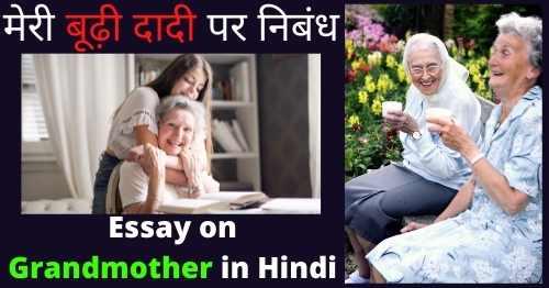 Essay-on-Grandmother-in-Hindi